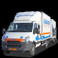 Lichte vrachtwagen met aanhanger (C1E)